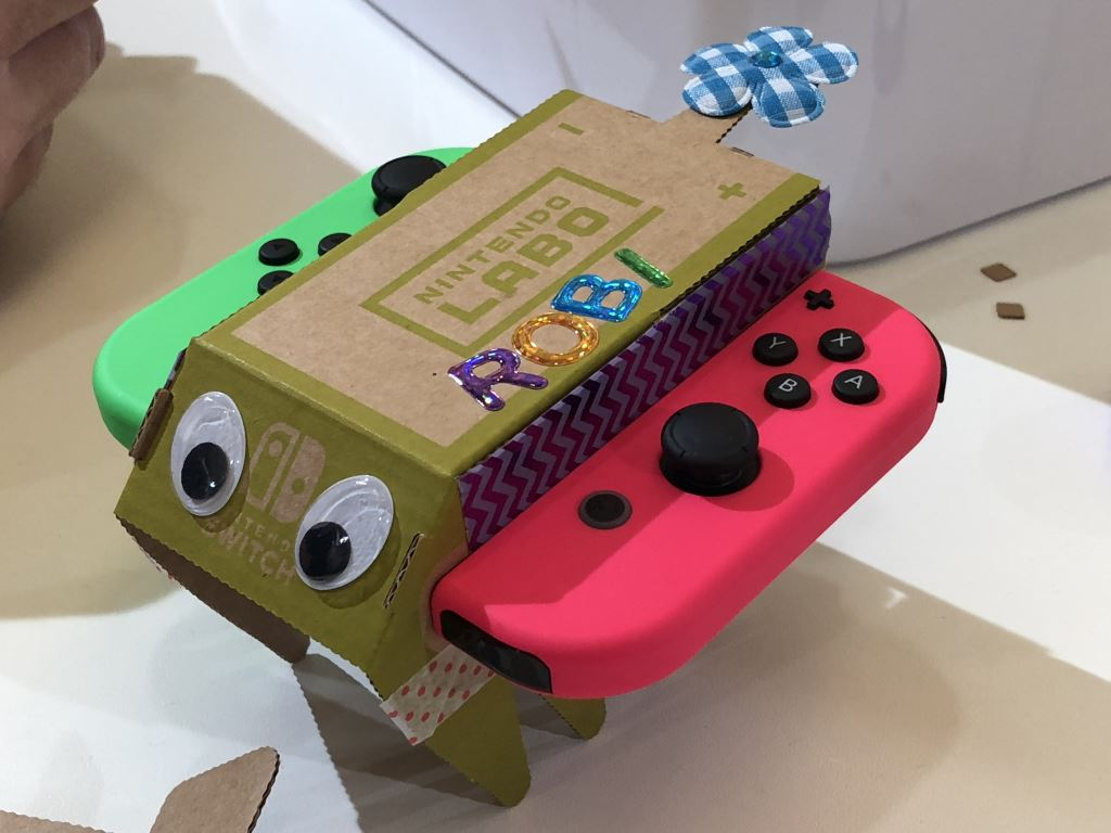 nintendo-labo-rc-auto Nintendo LABO - mit Pappe programmieren lernen - ab heute im Handel Entertainment Featured Games Hardware Reviews Software Spielekonsolen Switch Technology Testberichte YouTube Videos