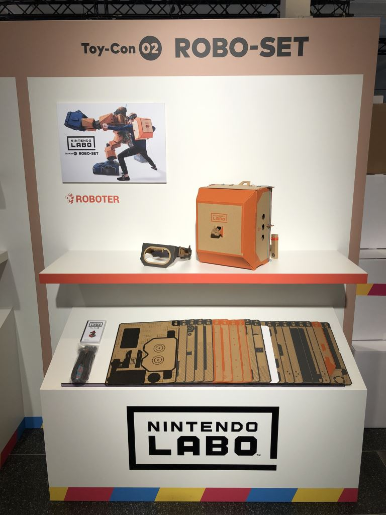 nintendo-labo-robo-set Nintendo LABO - mit Pappe programmieren lernen - ab heute im Handel Entertainment Featured Games Hardware Reviews Software Spielekonsolen Switch Technology Testberichte YouTube Videos