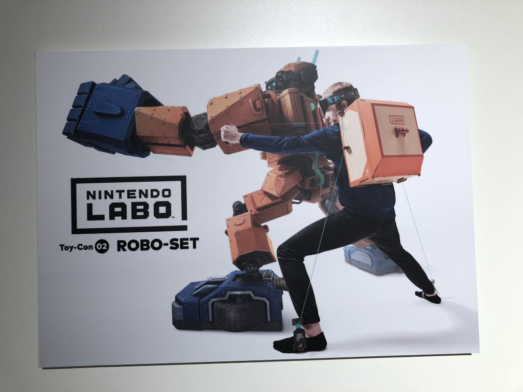 nintendo-labo-robo-set_01 Nintendo LABO - mit Pappe programmieren lernen - ab heute im Handel Entertainment Featured Games Hardware Reviews Software Spielekonsolen Switch Technology Testberichte YouTube Videos
