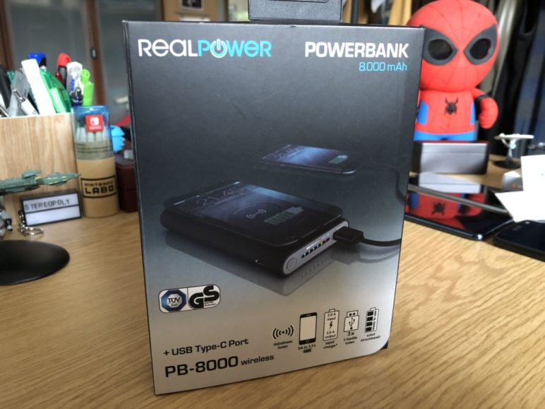 RealPower PB-8000 wireless - Box