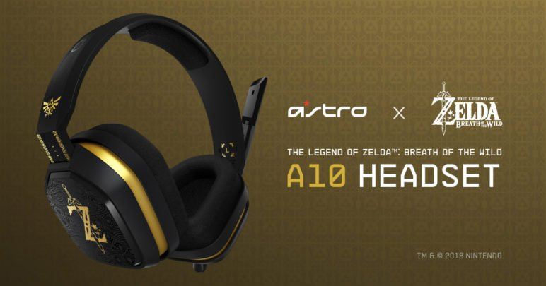 ASTRO Gaming A10 - Zelda-Edition
