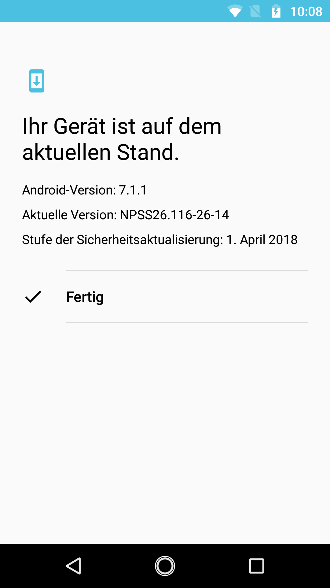 moto-g5s-plus-screenshot-version Moto G5S & Moto G5S Plus - eine Vorgängergeneration im Test Featured Google Android Hardware Lenovo Motorola Reviews Smartphones Technology Testberichte