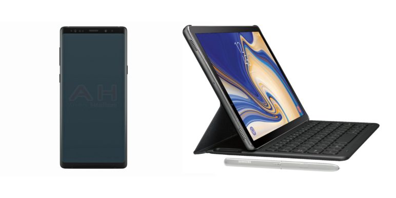 samsung-galaxy-note-9-tab-s4-leaked-772x386 Neue Bilder vom Samsung Galaxy Note 9 und Galaxy Tab S4 aufgetaucht Google Android Samsung Smartphones Software Tablet