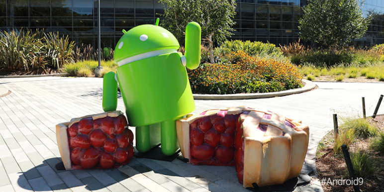 AndroidP_StatueReveal_TW-772x386 Android 9.0 Pie ist offiziell verfügbar Google Google Android Pixel Software