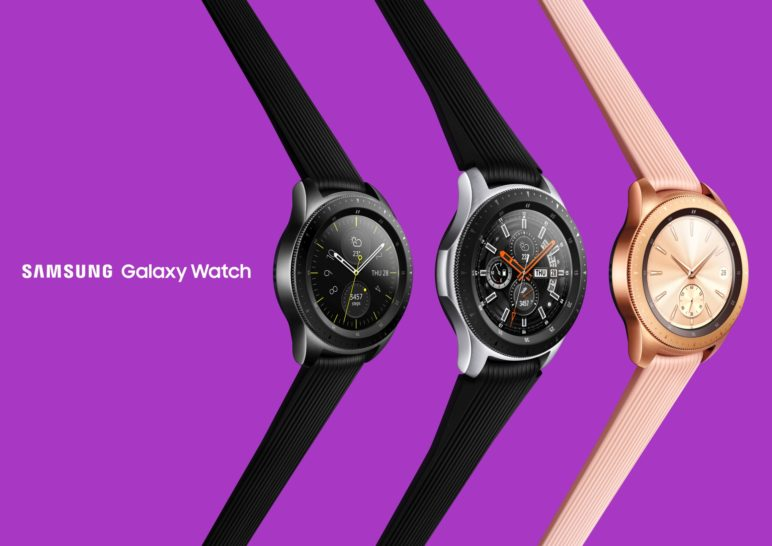 Galaxy-Watch-Press-Images-3-772x546 Samsung Galaxy Watch ist ebenfalls offiziell vorgestellt worden Samsung Smartwatches Software Tizen Wearables