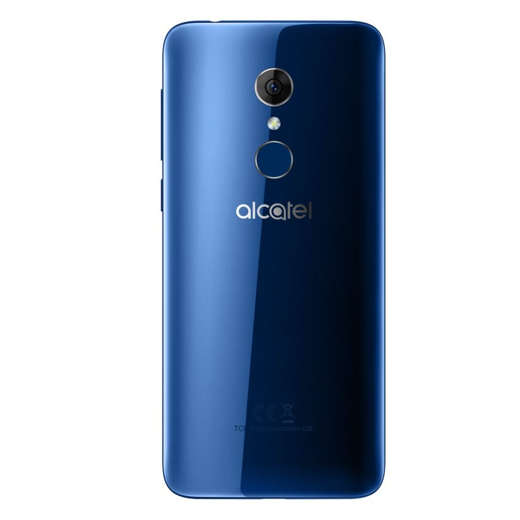 alcatel-3-spectrum-blue-back Alcatel 3 für 159 Euro erhältlich Alcatel Google Android Smartphones YouTube Videos