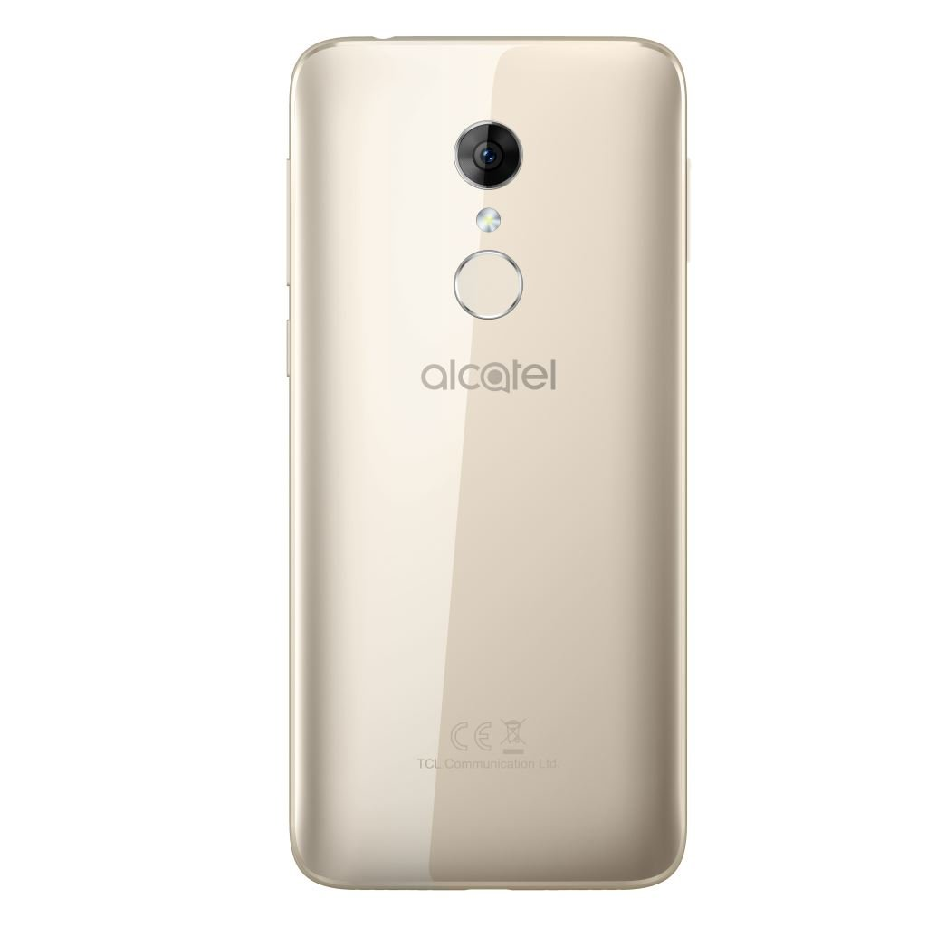 alcatel-3-spectrum-gold-back Alcatel 3 für 159 Euro erhältlich Alcatel Google Android Smartphones YouTube Videos