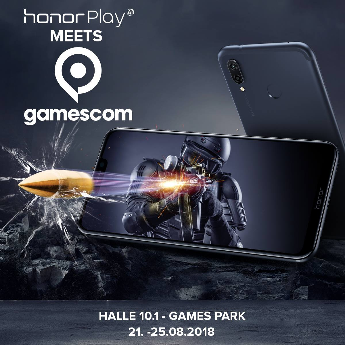 honor-play-gamescom Honor stellt das Honor Play für Westeuropa auf der gamescom vor Games Google Android Hardware Honor Smartphones