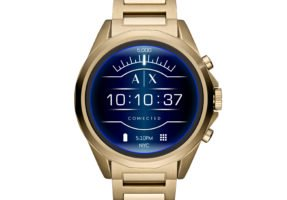 AXT2001_main-287x200 Armani stellt mit der A|X Armani Exchange Connected erste Touchscreen-Smartwatch vor Smartwatches Software Wear OS Wearables
