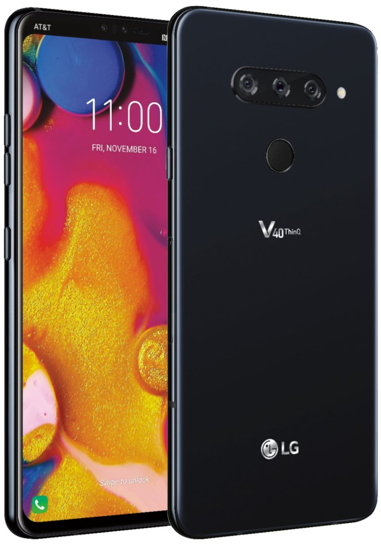 LGv40_press-772x1104 AT&T Pressebilder vom LG V40 ThinQ aufgetaucht Google Android LG Smartphones Software