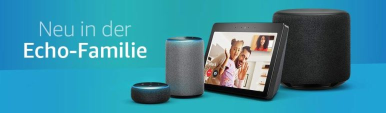 Amazon Echo Familie (late 2018)