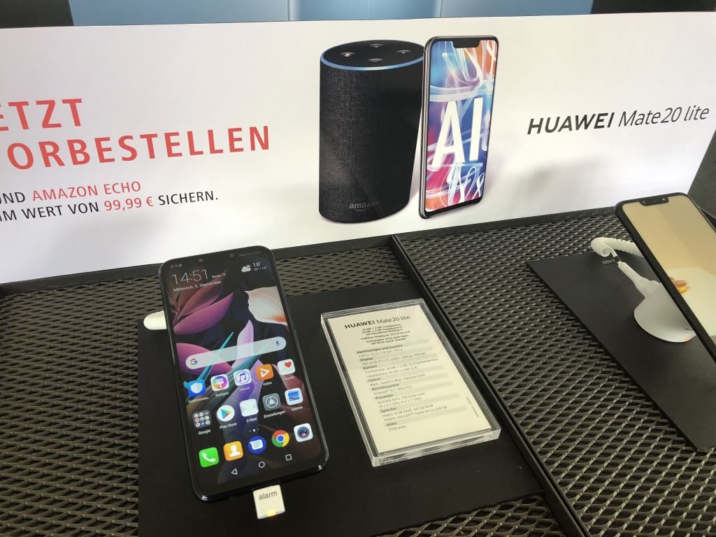 huawei-mate-20-lite-display [IFA 2018] HUAWEI zeigte Smart Speaker und launcht das Mate 20 Lite Audio Gadgets Google Android Hardware Huawei IFA 2018 Smartphones YouTube Videos