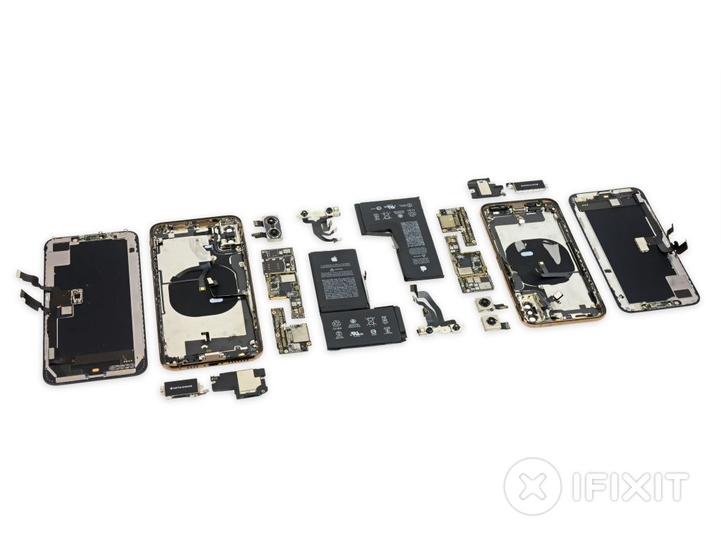ifixit-apple-iphone-xs-zerlegt iFixit zerlegt iPhone XS und iPhone XS Max Apple Entertainment Gadgets Smartphones Technology Web