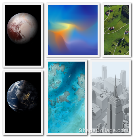 pixel3_wallpaper_collage Google Pixel 3 Wallpapers und die vollständige Pixel 3 Wallpapers App aufgetaucht Google Google Android Pixel Smartphones Software Technology