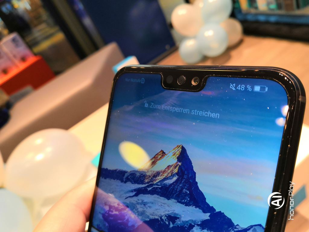 honor-8x-notch Honor 8X im Hands-On und ab 249 Euro zu haben Gadgets Google Android Honor Smartphones YouTube Videos