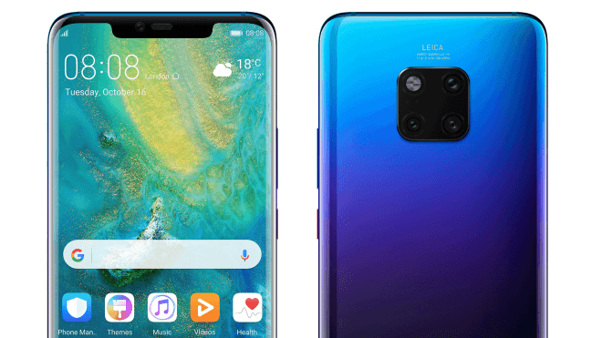 huawei-mate-20-pro-blau HUAWEI stellt heute das Mate 20 Pro in London vor [Livestream] Google Android Huawei Smartphones YouTube Videos