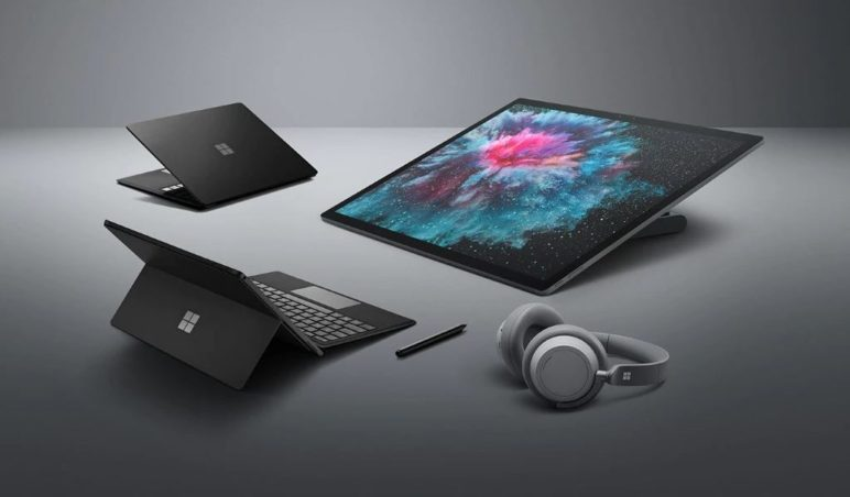 Microsoft Surface Hardware 2018