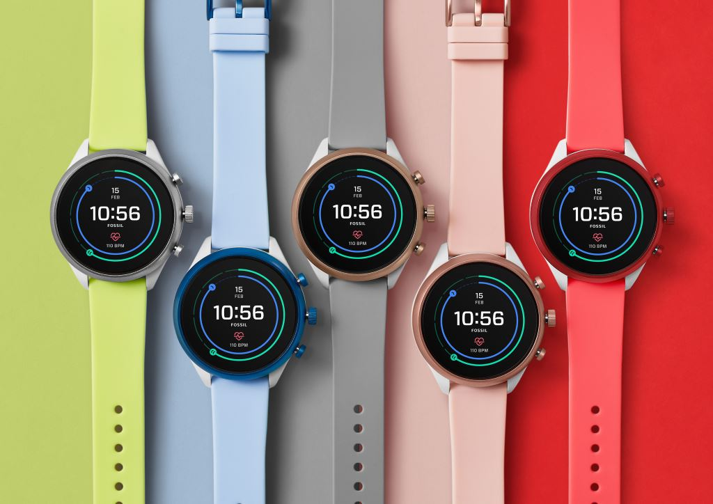 fossil-sport-smartwatch-bunt Fossil Sport: Wear OS Smartwatch mit Fokus auf Sport Gadgets Smartwatches Wear OS by Google Wearables YouTube Videos