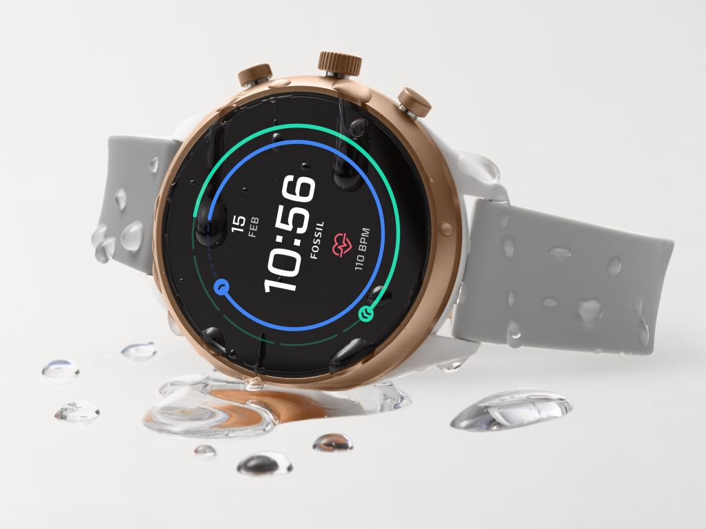 fossil-sport-wasserdicht Fossil Sport: Wear OS Smartwatch mit Fokus auf Sport Gadgets Smartwatches Wear OS by Google Wearables YouTube Videos
