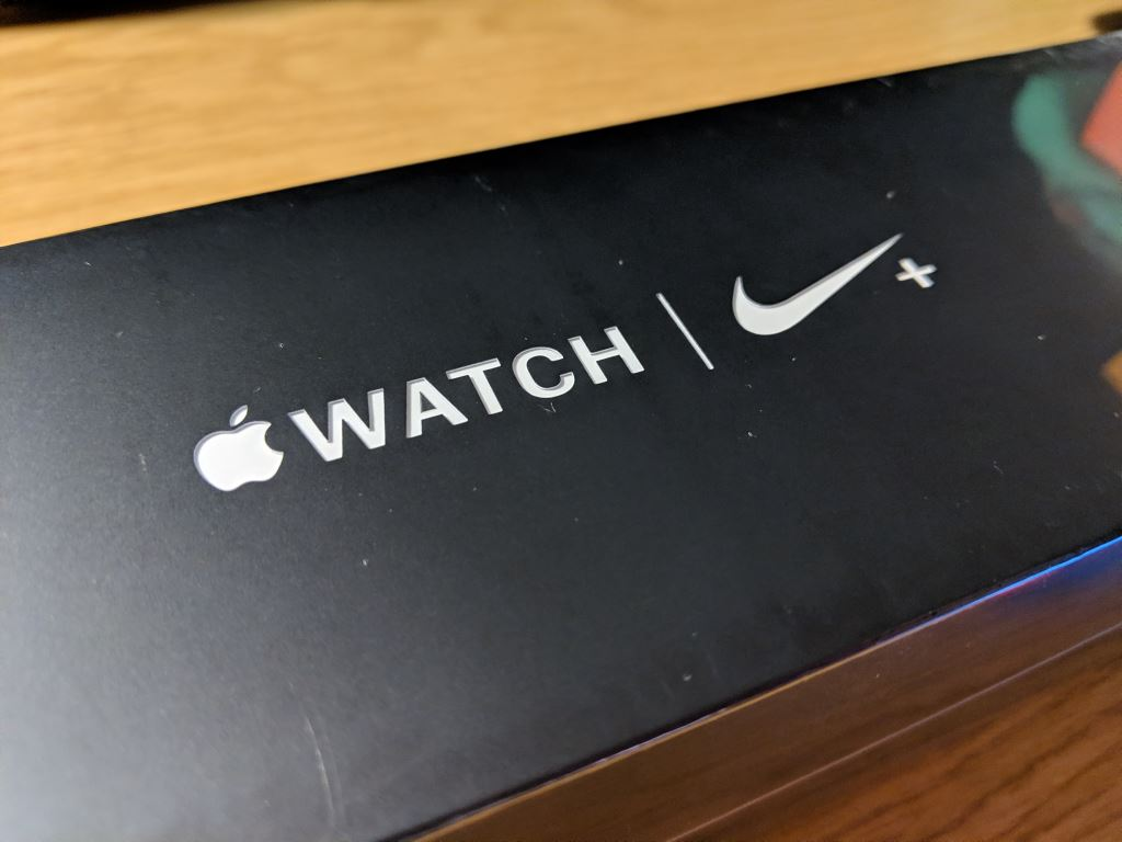 apple-watch-nike-plus-series-4-box-logo Apple Watch Nike+ Series 4 im Unboxing und erster Eindruck Apple Gadgets Hardware Smartwatches Wearables