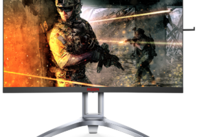 AG273QCX-Monitor-with-screenfill-287x200 AOC kündigt die Curved-Monitore AG273QCG (Nvidia G-SYNC) und AG273QCX (AMD FreeSync 2 HDR) an Computer Games Hardware Monitore Technology