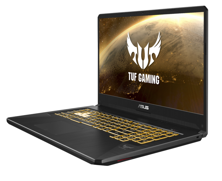 ASUS-TUF-Gaming-FX705DY_Product-Photos_Gold-Steel_Lighting_10-772x630 [CES 2019] ASUS präsentiert die neuen TUF Gaming Notebooks FX505DY und FX705DY Asus Events Games