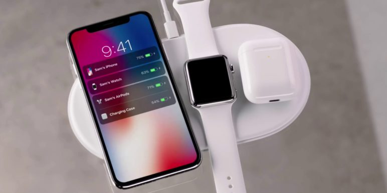 Apple AirPower Ladematte