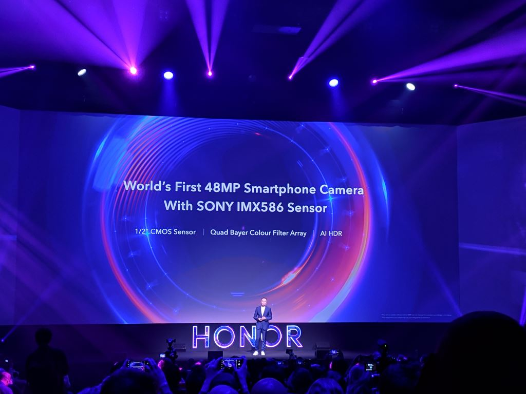 honor-view20-keynote-imx586-color-filter Kameravergleich: HONOR View20 vs. Google Pixel 3 Events Gadgets Google Android Honor Kameras Smartphones Technologie