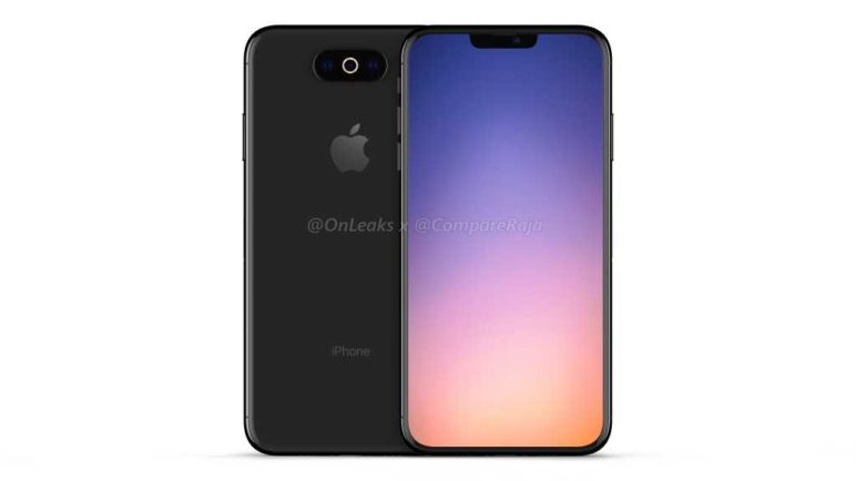 iPhone-XI-2019-CompareRaja-1-1024x576-772x434 Neue gerenderte Bilder vom iPhone XI zeigen eine kleinere Notch Apple Apple iOS Smartphones Software