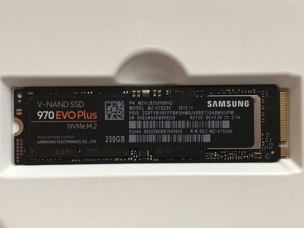 samsung-970-evo-plus-ssd-wide Samsung 970 EVO Plus V-NAND SSD kommt auf den Markt Computer Hardware Samsung Shortnews Technology Windows