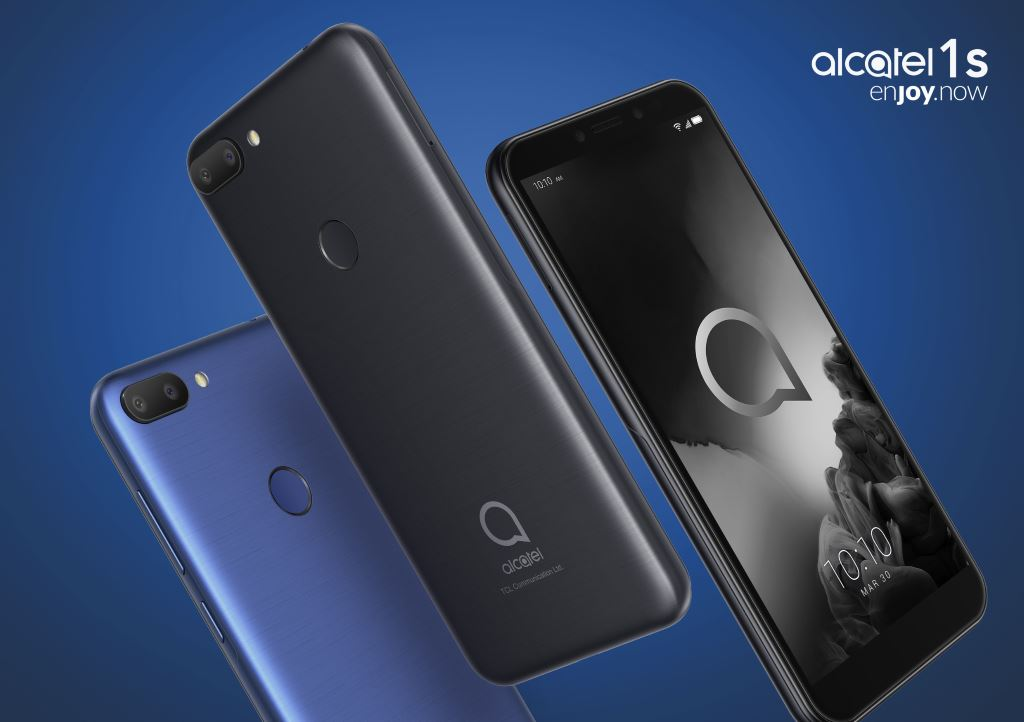 alcatel-1s-2019-hero MWC 2019: Alcatel stellt drei günstige Smartphones und ein Tablet vor Alcatel Events Google Android MWC Smartphones Software Tablets YouTube Videos