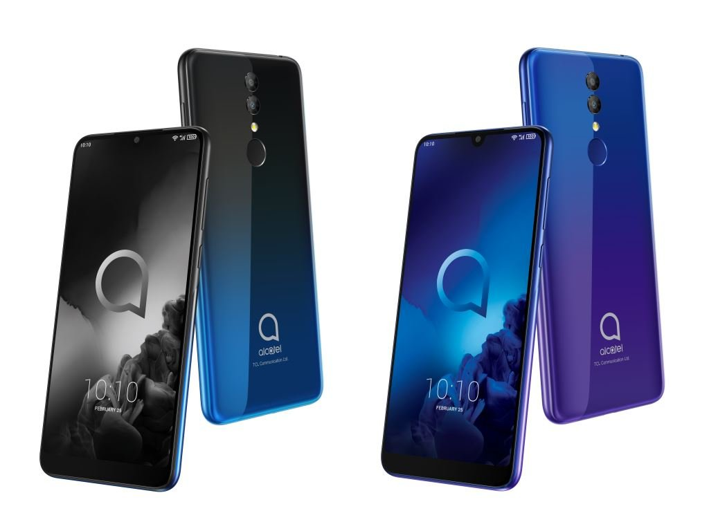 alcatel-3-2019-colors MWC 2019: Alcatel stellt drei günstige Smartphones und ein Tablet vor Alcatel Events Google Android MWC Smartphones Software Tablets YouTube Videos