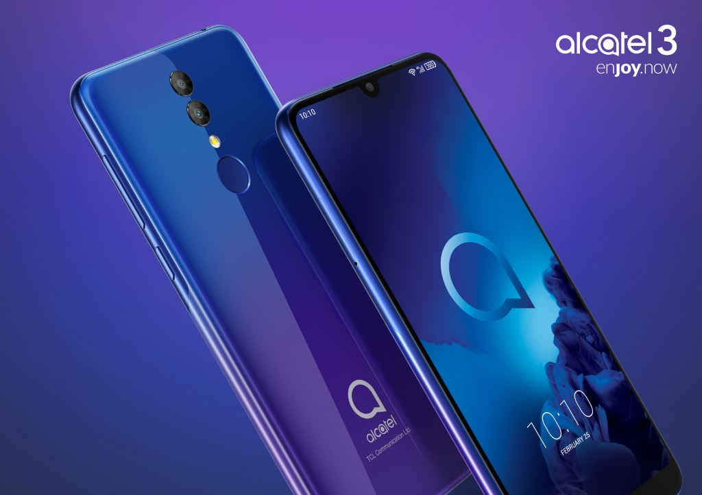 alcatel-3-2019-hero MWC 2019: Alcatel stellt drei günstige Smartphones und ein Tablet vor Alcatel Events Google Android MWC Smartphones Software Tablets YouTube Videos