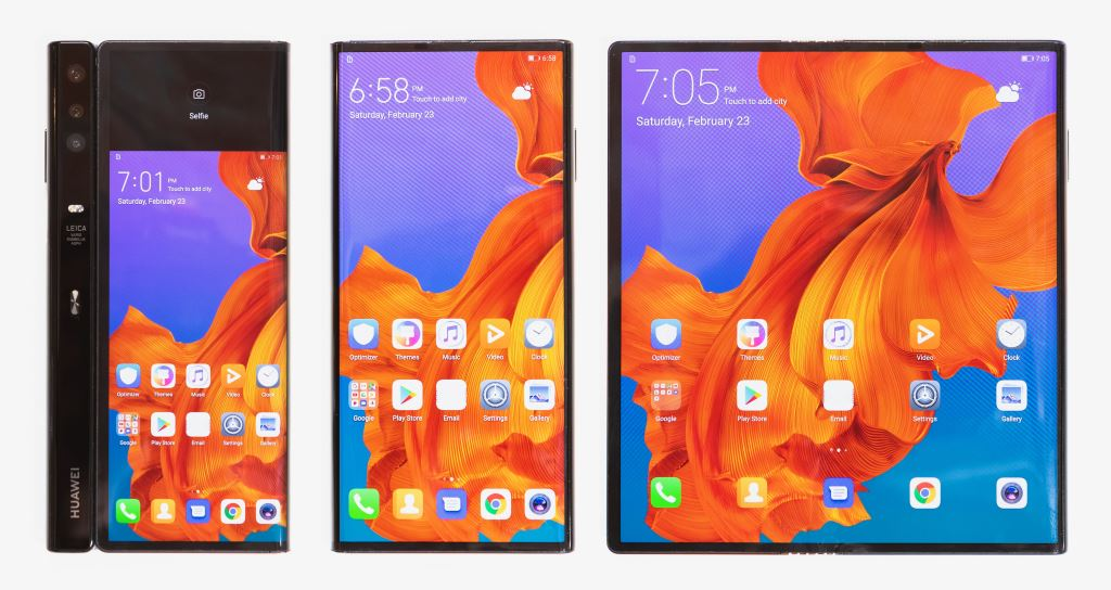 huawei-mate-x-three-modes MWC 2019: HUAWEI Mate X - faltbares 5G-Smartphone vorgestellt Google Android Hardware Huawei MWC 2019 Smartphones Tablet Technology YouTube Videos