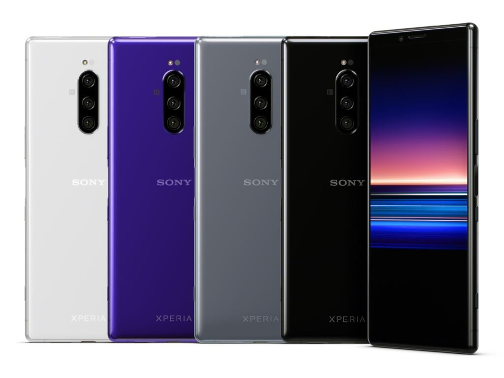 sony-xperia-1-farben MWC 2019: Sony Xperia 1 und Xperia 10/Plus mit 21:9-Bildschirm vorgestellt Events Google Android MWC Smartphones Sony YouTube Videos
