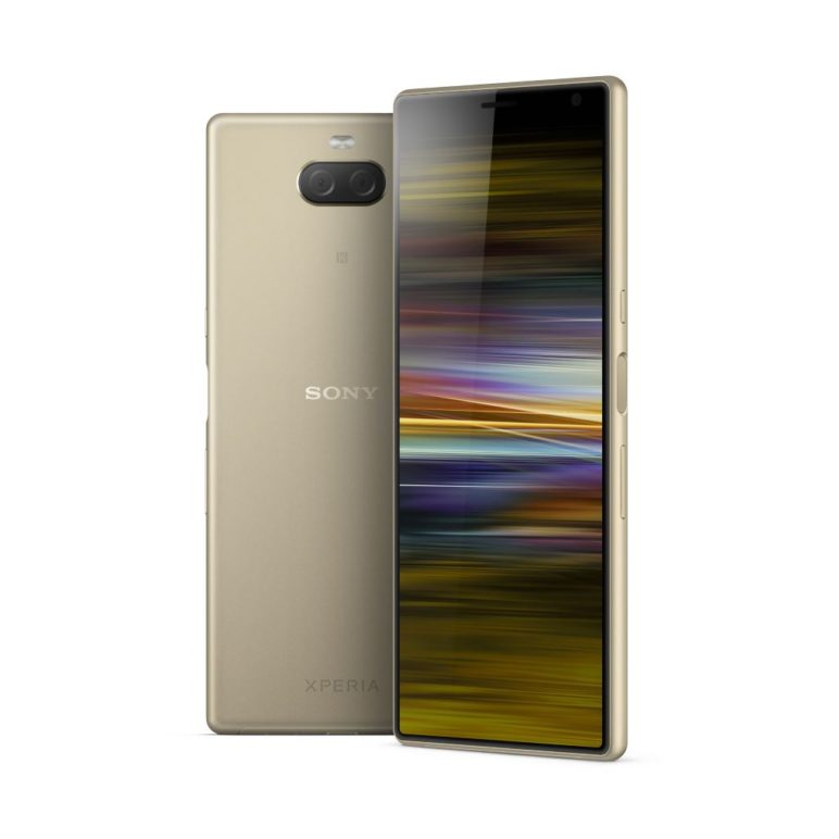 sony-xperia-10-plus-gold-772x772 MWC 2019: Sony Xperia 1 und Xperia 10/Plus mit 21:9-Bildschirm vorgestellt Events Google Android MWC Smartphones Sony YouTube Videos
