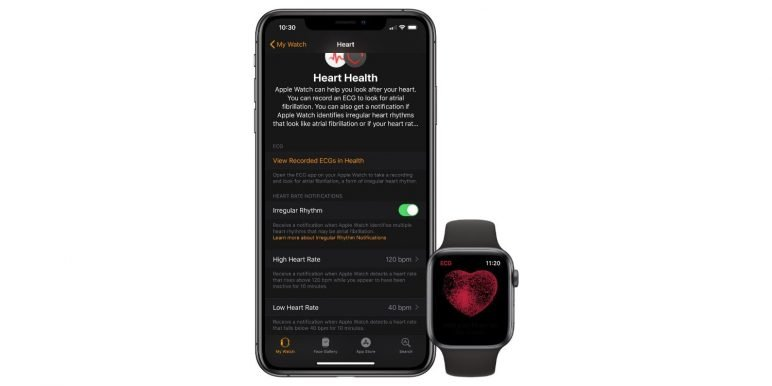 heart-ecg-772x386 Update für die Apple Watch - EKG Feature ist nun verfügbar Apple Smartwatches Wearables