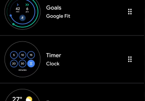 TheWearOS2-287x200 Update für Googles Wear OS bringt einen Kachel-Manager Smartwatches Software Wear OS Wearables