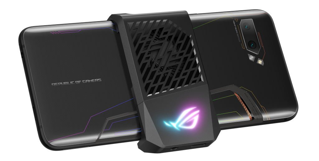 asus-rog-phone-2-aeroactive-cooler-2 ASUS Republic of Gamers stellt ROG Phone II vor Asus Entertainment Gadgets Games Google Android Hardware Smartphones YouTube Videos