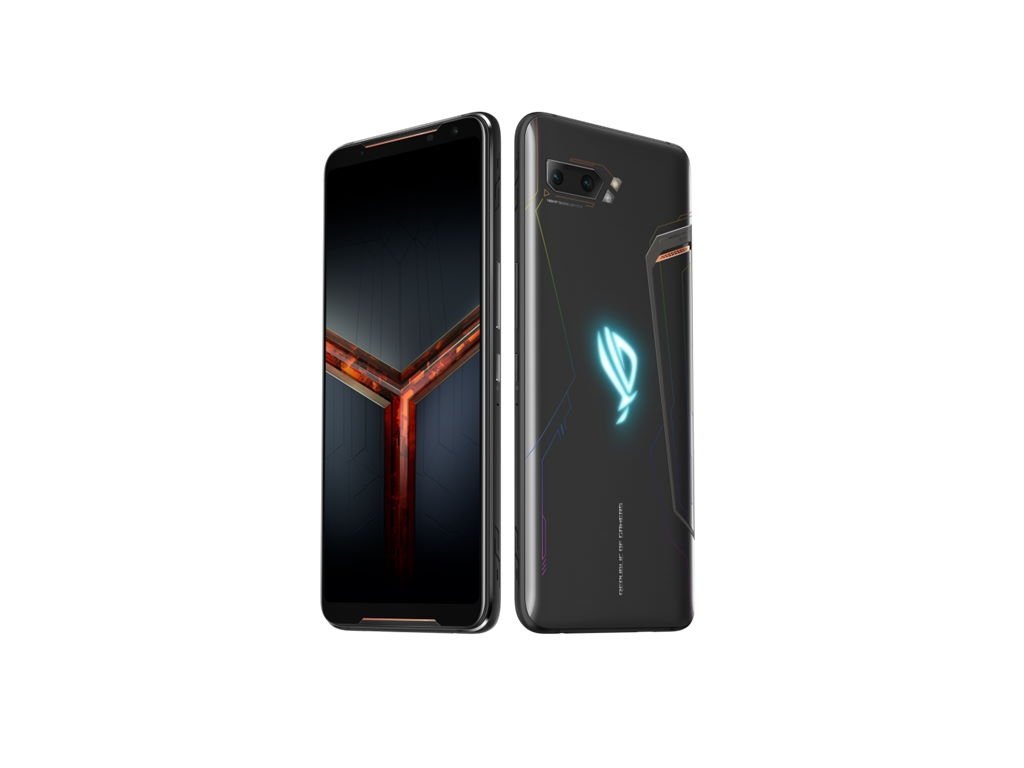 asus-rog-phone-2-angled ASUS Republic of Gamers stellt ROG Phone II vor Asus Entertainment Gadgets Games Google Android Hardware Smartphones YouTube Videos