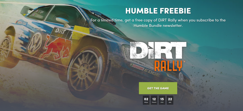 Get-DiRT-Rally-for-free-772x354 DiRT Rally bis Sonntag kostenlos bei Humble Bundle Games Software Windows