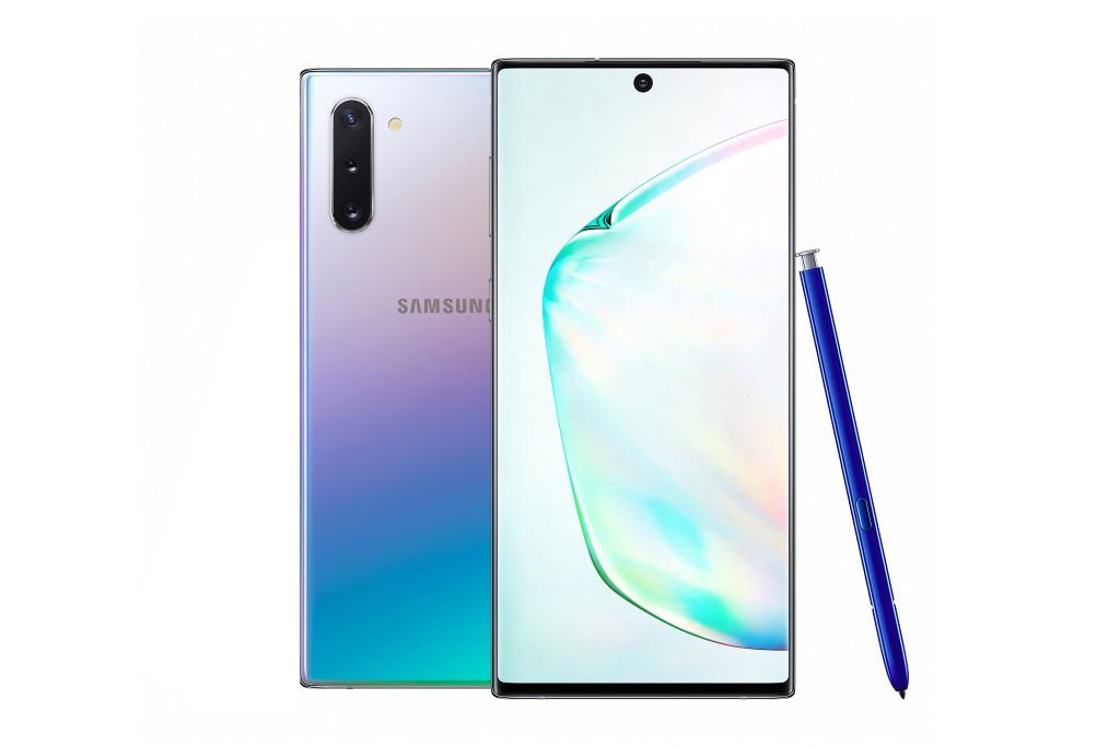 samsung-galaxy-note10_auraglow Samsung Galaxy Note10 - zwei Größen, neues Design, mehr S Pen Gadgets Google Android Samsung Smartphones Technologie YouTube Videos
