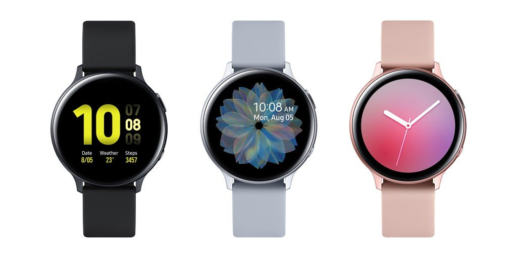 samsung-galaxy-watch-active2-aluminum-40mm Samsung bringt die Galaxy Watch Active2 ab 299 Euro auf den Markt Gadgets Hardware Samsung Smartwatches Software Tizen Wearables YouTube Videos