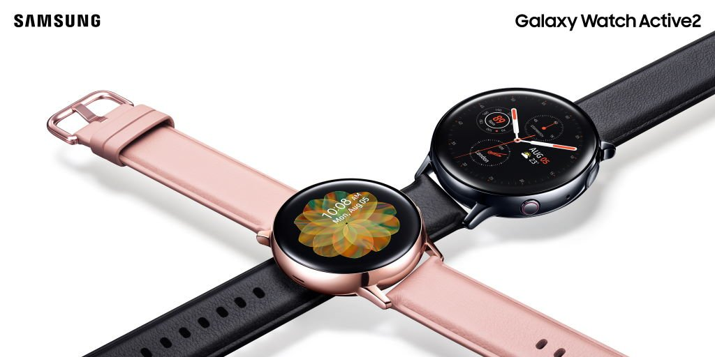 samsung-galaxy-watch-active2 Samsung bringt die Galaxy Watch Active2 ab 299 Euro auf den Markt Gadgets Hardware Samsung Smartwatches Software Tizen Wearables YouTube Videos