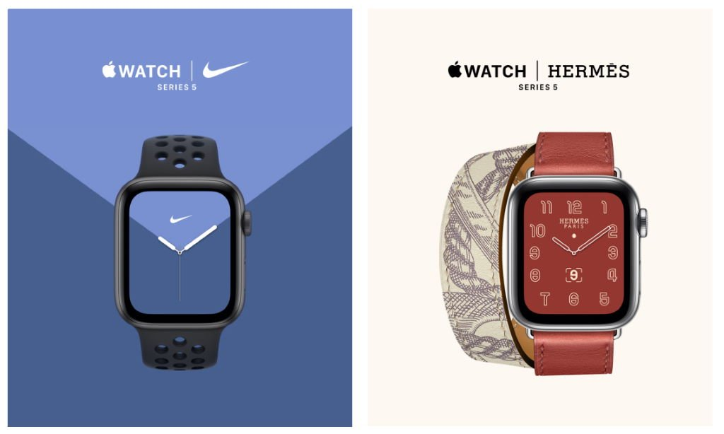 apple-watch-series-5-nike-hermes Apple Watch Series 5 vorgestellt Apple iOS Gadgets Smartwatches Technologie Wearables YouTube Videos