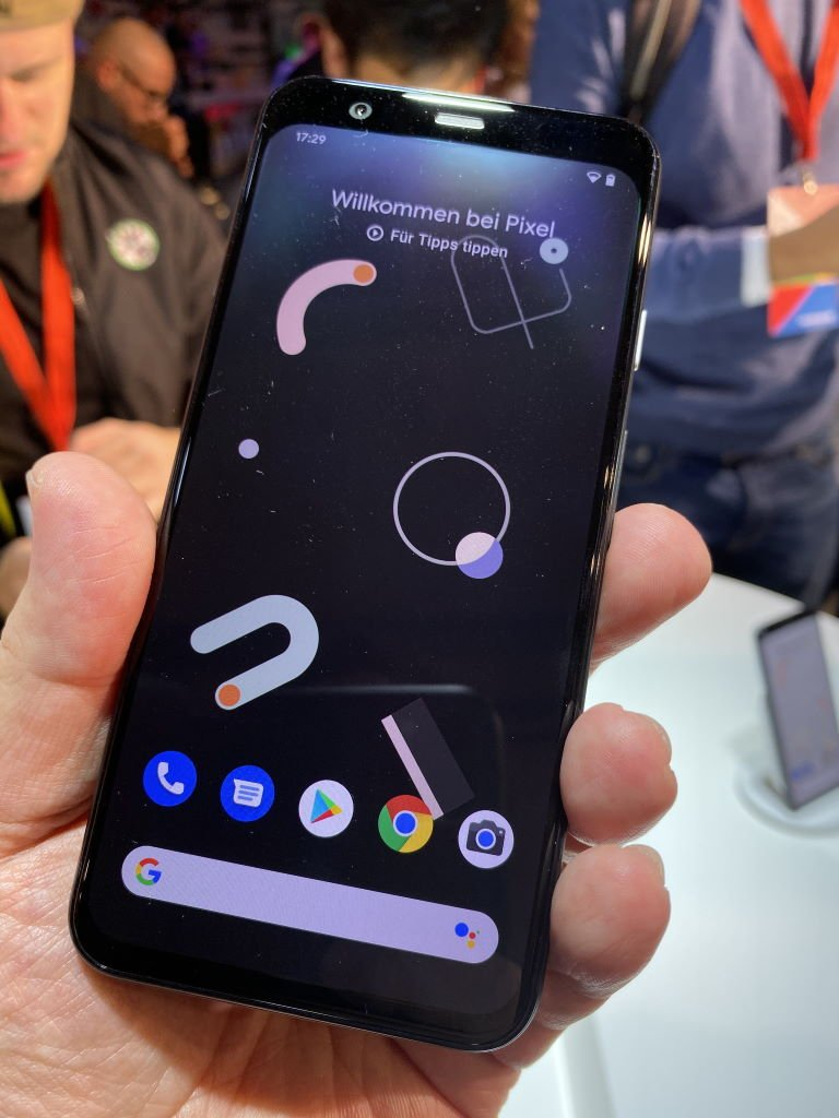 google-pixel-4-display Google stellt Pixel 4 und Pixel 4 XL vor [Hands-On] Events Google Google Android Smartphones YouTube Videos