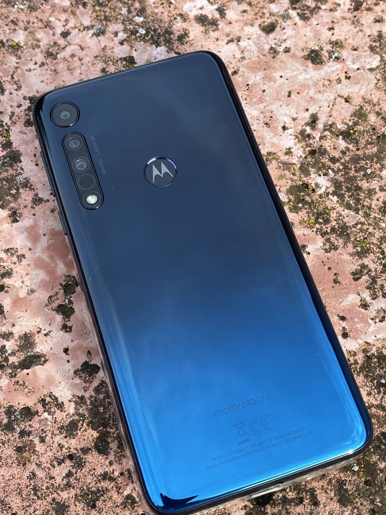 motorola-one-macro-space-blue Motorola One Macro im Hands-On Events Google Android Motorola Smartphones Technologie YouTube Videos