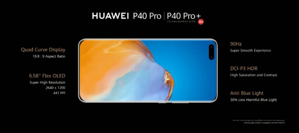 huawei-p40-pro-display HUAWEI P40-Serie mit Triple-, Quad- und Penta-Kameras vorgestellt Events Google Android Handys Huawei News Smartphones YouTube Videos