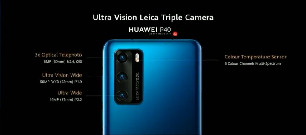 huawei-p40-triple-camera HUAWEI P40-Serie mit Triple-, Quad- und Penta-Kameras vorgestellt Events Google Android Handys Huawei News Smartphones YouTube Videos