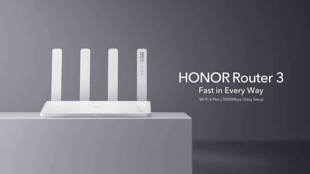 honor-router-3 HONOR Router 3 bringt WiFi 6 Plus ins Heimnetzwerk Honor News Peripherie Router Smart Home Technologie